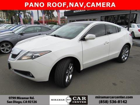 2010 Acura ZDX for sale in San Diego, CA