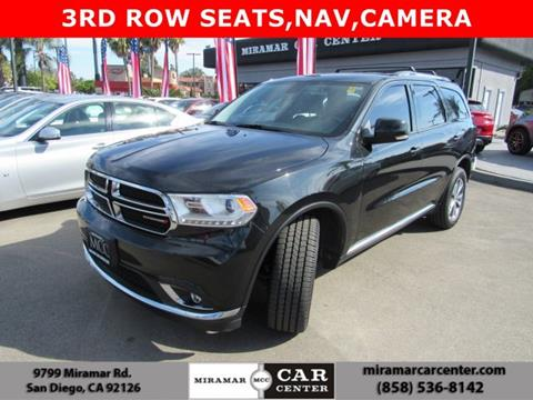 2015 Dodge Durango for sale in San Diego, CA