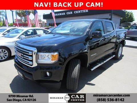 Gmc San Diego >> 2016 Gmc Canyon For Sale In San Diego Ca
