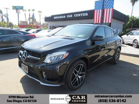 2016 Mercedes-Benz GLE for sale in San Diego, CA