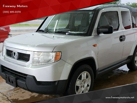 2011 Honda Element for sale in Abilene, TX