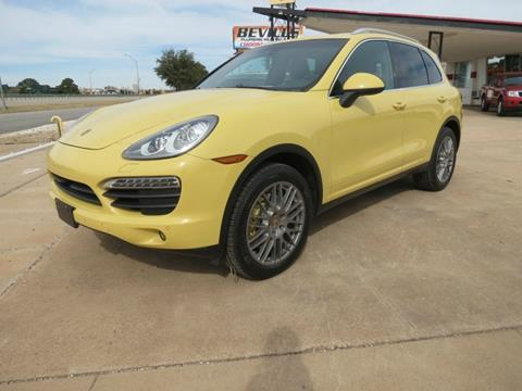 2012 Porsche Cayenne for sale in Abilene, TX
