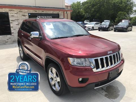 2012 Jeep Grand Cherokee for sale in Princeton, TX