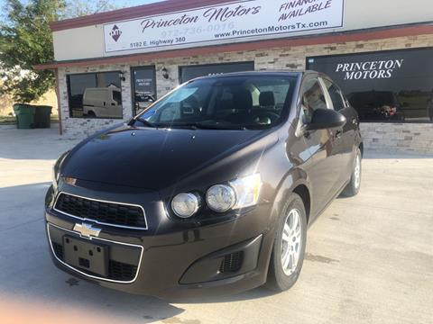 2016 Chevrolet Sonic for sale in Princeton, TX