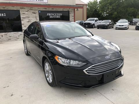 Ford Fusion Hybrid For Sale >> Ford Fusion Hybrid For Sale In Princeton Tx Princeton Motors