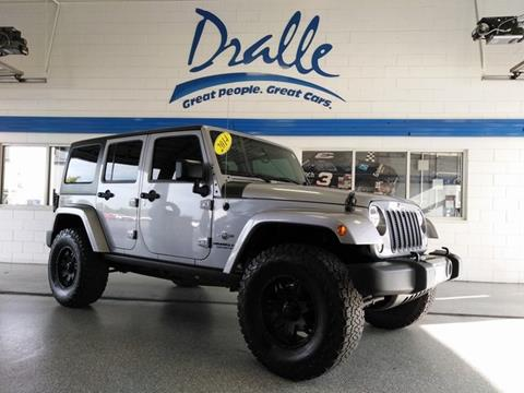 2014 Jeep Wrangler Unlimited for sale in Peotone, IL