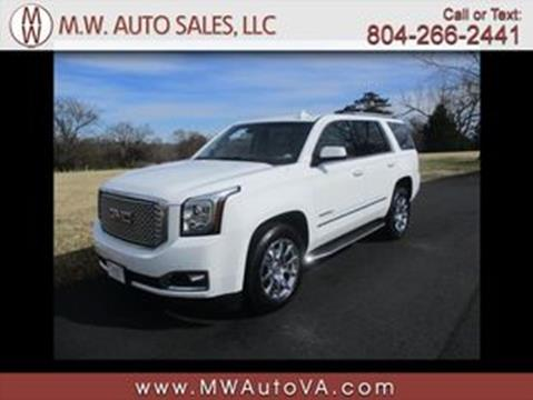 2016 GMC Yukon for sale in Glen Allen, VA