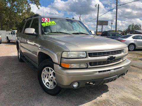 2003 Chevrolet Suburban for sale at Harry's Auto Sales, LLC in Goose Creek SC