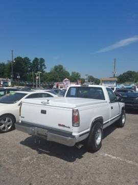 1996 GMC Sierra 1500 for sale in Henderson, NC