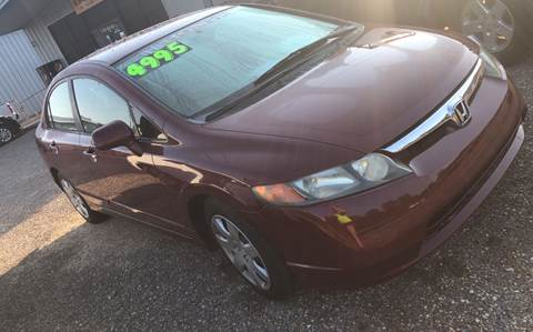 2008 Honda Civic for sale in Luverne, AL