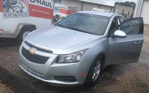 2014 Chevrolet Cruze for sale in Luverne, AL