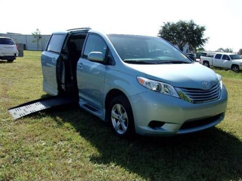 2017 Toyota Sienna for sale at MobilityWorks Corporate - MobilityWorks (Fort Myers) in Fort Myers FL