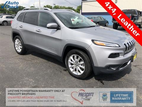 2016 Jeep Cherokee for sale in Rochelle, IL