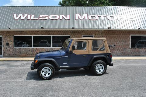 1997 Jeep Wrangler for sale in Opelika, AL