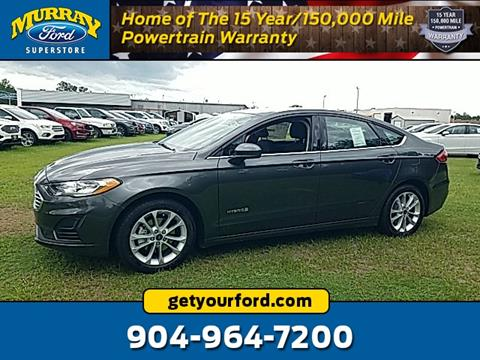2019 Ford Fusion Hybrid for sale in Starke, FL