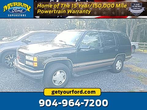 1996 GMC Yukon for sale in Starke, FL
