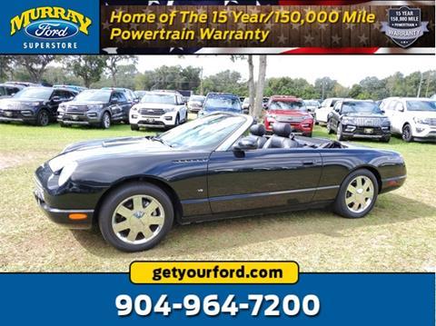 Murray Ford Starke Fl >> 2003 Ford Thunderbird For Sale In Starke Fl