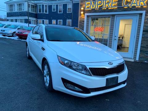 2013 Kia Optima for sale at EMPIRE CAR INC in Troy NY