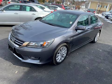 2013 Honda Accord for sale at EMPIRE CAR INC in Troy NY