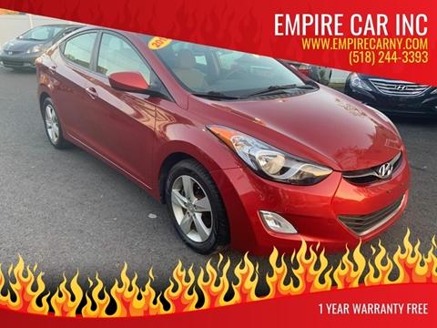 2012 Hyundai Elantra for sale in Troy, NY