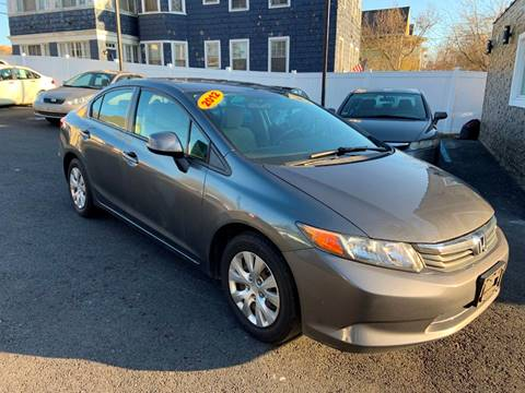 2012 Honda Civic for sale at EMPIRE CAR INC in Troy NY