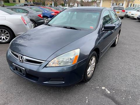 2007 Honda Accord for sale at EMPIRE CAR INC in Troy NY