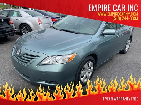 2009 Toyota Camry for sale at EMPIRE CAR INC in Troy NY