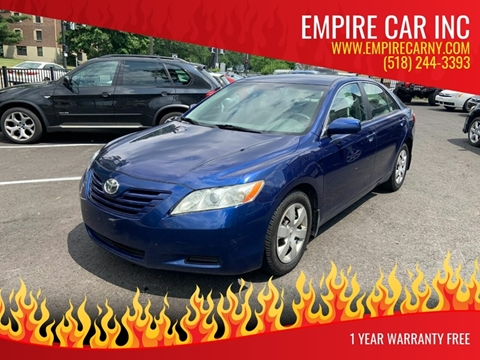 2008 Toyota Camry for sale at EMPIRE CAR INC in Troy NY