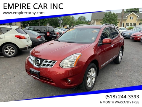 2013 Nissan Rogue for sale at EMPIRE CAR INC in Troy NY