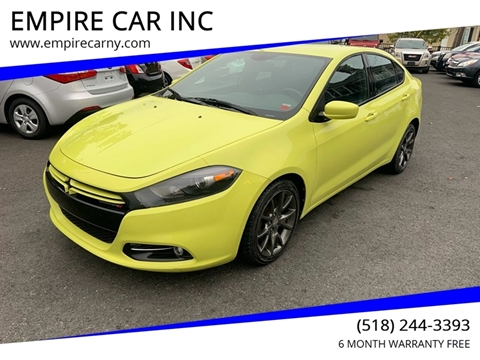 2013 Dodge Dart for sale at EMPIRE CAR INC in Troy NY