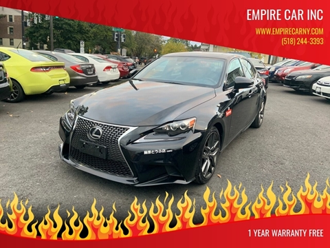 2015 Lexus IS 250 for sale at EMPIRE CAR INC in Troy NY