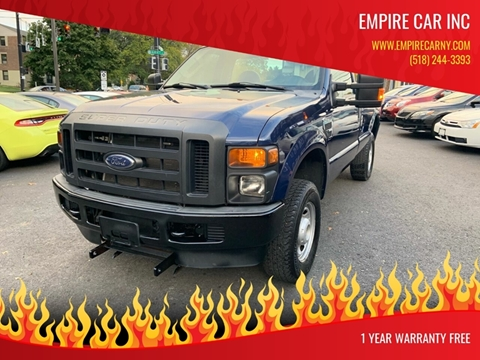 2010 Ford F-250 Super Duty for sale at EMPIRE CAR INC in Troy NY