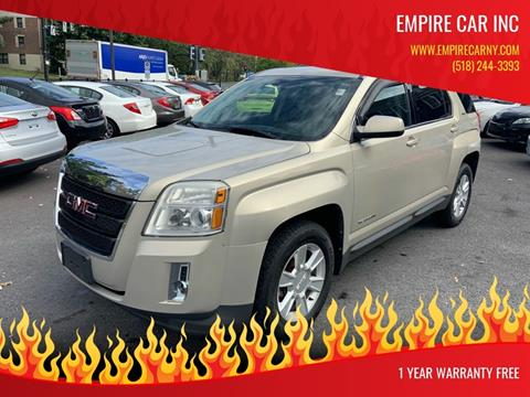 2011 GMC Terrain for sale at EMPIRE CAR INC in Troy NY