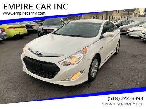 2011 Hyundai Sonata Hybrid for sale at EMPIRE CAR INC in Troy NY
