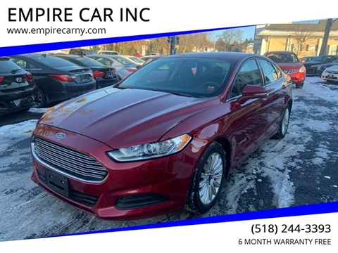 2014 Ford Fusion Hybrid for sale at EMPIRE CAR INC in Troy NY