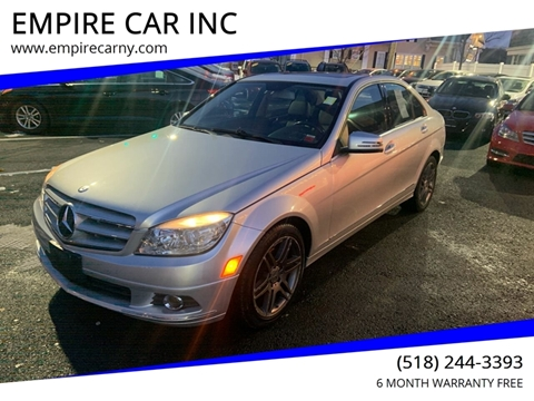 2011 Mercedes-Benz C-Class for sale at EMPIRE CAR INC in Troy NY