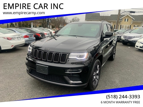 2019 Jeep Grand Cherokee for sale at EMPIRE CAR INC in Troy NY