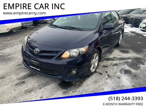 2011 Toyota Corolla for sale at EMPIRE CAR INC in Troy NY