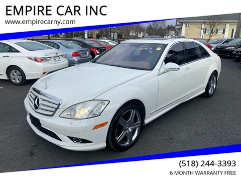 2007 Mercedes-Benz S-Class for sale at EMPIRE CAR INC in Troy NY