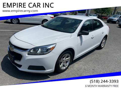 2014 Chevrolet Malibu for sale at EMPIRE CAR INC in Troy NY