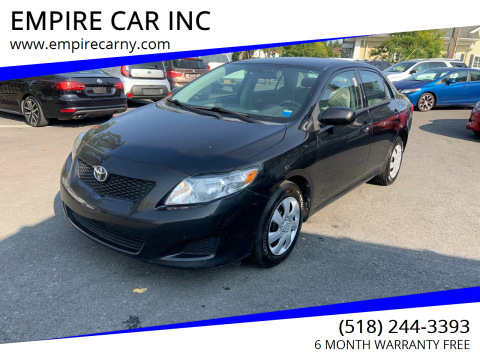 2009 Toyota Corolla for sale at EMPIRE CAR INC in Troy NY