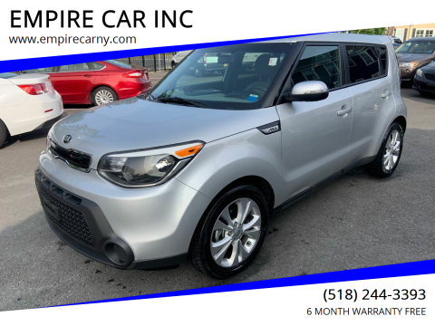 2014 Kia Soul for sale at EMPIRE CAR INC in Troy NY