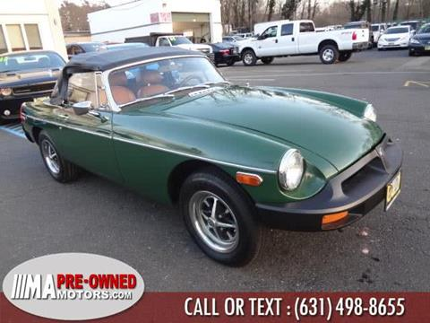 1979 MG MGB for sale in Huntington Station, NY