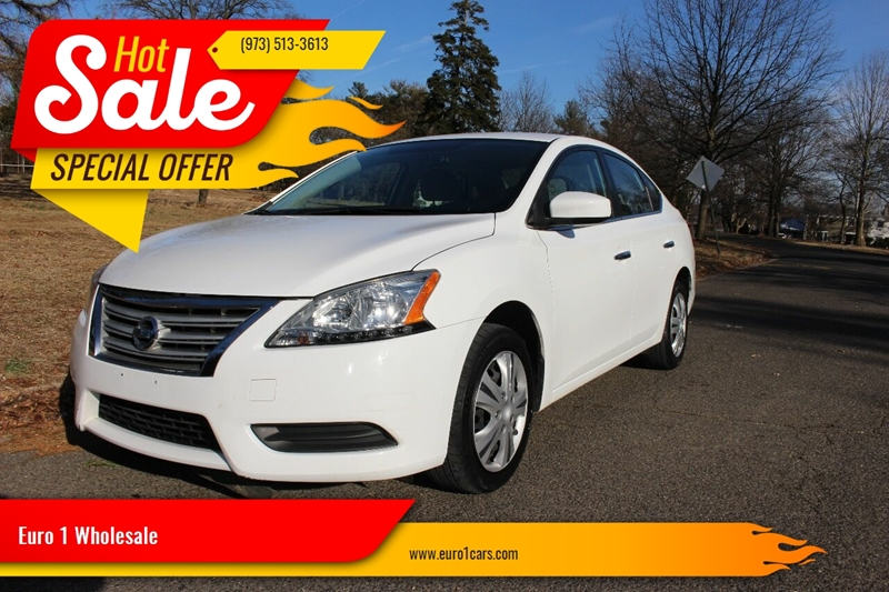 2015 Nissan Sentra for sale at Euro 1 Wholesale in Fords NJ