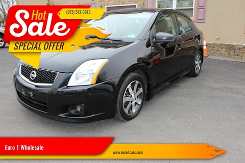 2012 Nissan Sentra for sale at Euro 1 Wholesale in Fords NJ