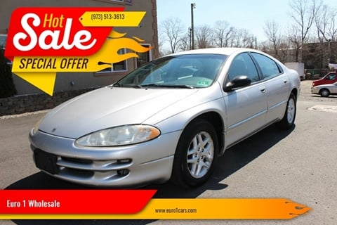 2002 Dodge Intrepid for sale at Euro 1 Wholesale in Fords NJ