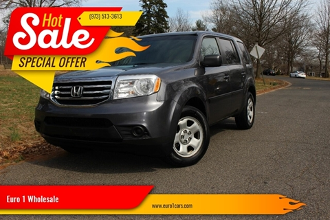 2014 Honda Pilot for sale at Euro 1 Wholesale in Fords NJ