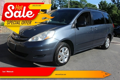 2009 Toyota Sienna for sale at Euro 1 Wholesale in Fords NJ