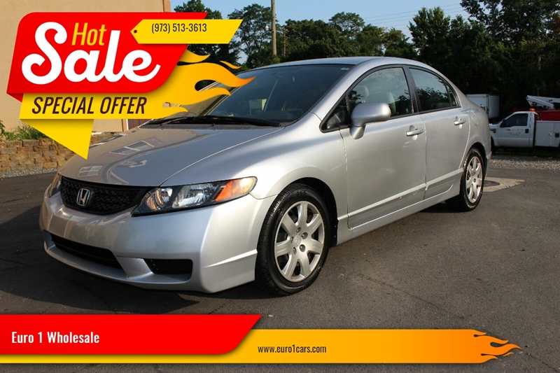 2008 Honda Civic for sale at Euro 1 Wholesale in Fords NJ
