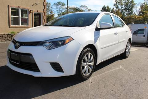 2015 Toyota Corolla for sale at Euro 1 Wholesale in Fords NJ